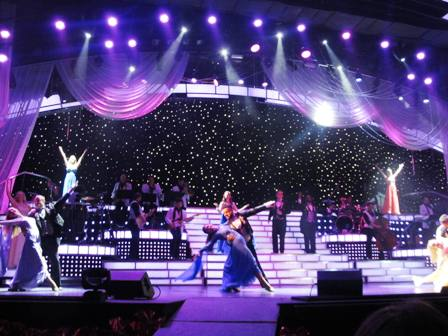 The Smoky Mountain Opry Dance is beautiful and artistic