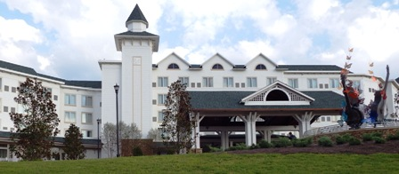 Dollywood Hotels DreamMore is one of the area's most beautiful hotels!