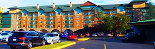 Pigeon Forge Hotels Spirit of the Smokies offers an overnight stay or condo rentals!