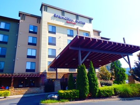 Stay in luxury at this Pigeon Forge Hotel SpringHill Suites.