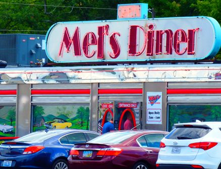 Remembering the good ole days with Pigeon Forge Restaurants Mel's Diner!