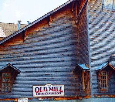 Of all Pigeon Forge Restaurants Old Mill is one of the most historic!