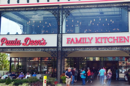 Joining the line up of good Pigeon Forge Restaurants Paula Deen is at the