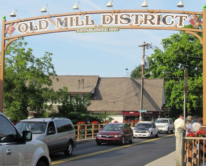 Be sure to make the Old Mill District part of your Pigeon Forge Shopping trip