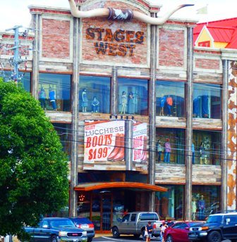 Looking for cowboy hats and boots?  Go Pigeon Forge Shopping Stages West.