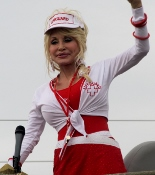 the dolly parton parade happens in pigeon-forge-tn