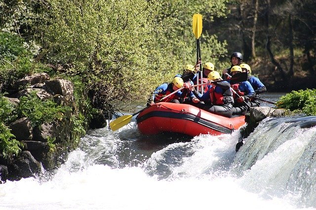 Rafting with Smoky Mountain Outdoors is a fun day in the mountains for every member of the family.