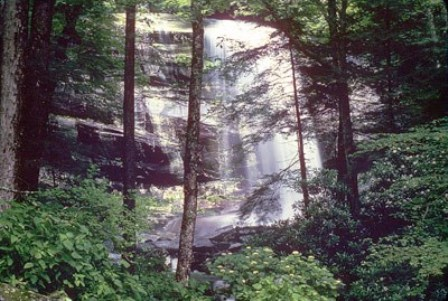 Rainbow Falls is an 80-foot Waterfall with a Rainbow at the bottom when the sun shines directly over it.