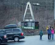 The Ober Gatlinburg Tramway is open to everyone who wants great views of the mountains.