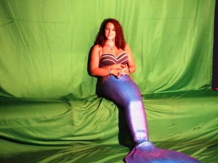 This Ripley's Aquarium Mermaid is waiting to have her photo taken with you!