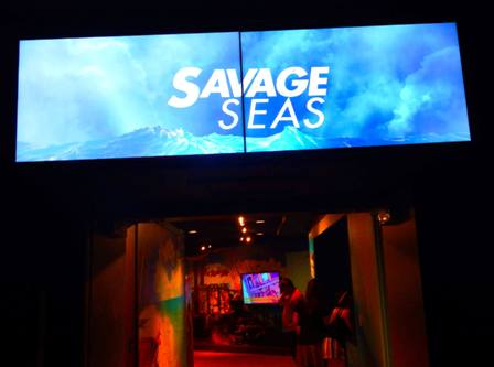 Ripley's Aquarium Salvage Seas is filled with fun and games!