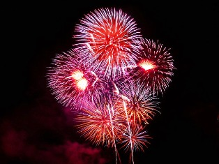 An exciting Schedule of Events Fireworks Show brings a