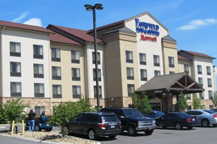 This Fairfield Inns Sevierville is centrally located to everything to see and do in Sevierville, TN