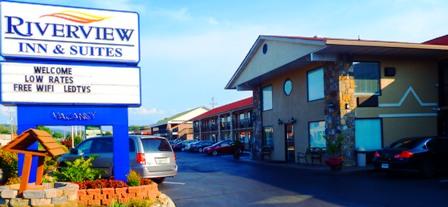 Enjoy the comfort of Sevierville Hotels Riverview Inn.
