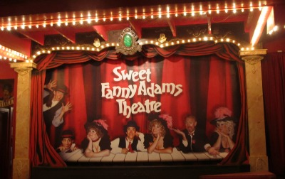 The Sweet Fanny Adams Stage is always filled with lots of laughter and entertainment.