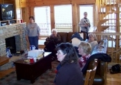 sunday school class takes -smoky-mountain-cabin-rentals trip