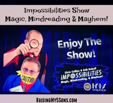 What you see during this amazing presentation is Smoky Mountain Impossibilities.