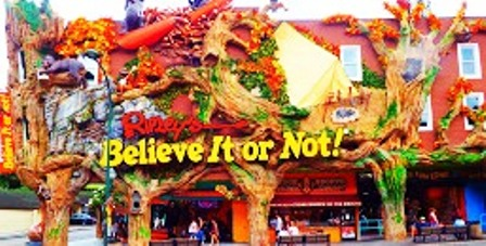 Ripleys Believe It Or Not Smoky Mountain Museum is a great place to spend the day!