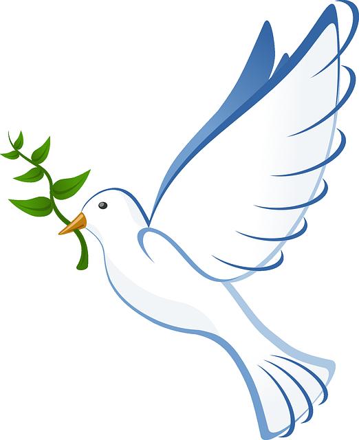 Spiritual Retreat Peaceful Dove