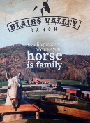 It's the cowboy Blairs Valley Ranch entertains!
