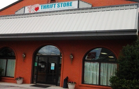 There are plenty of Thrift Shop treasures at this unique shopping venue!