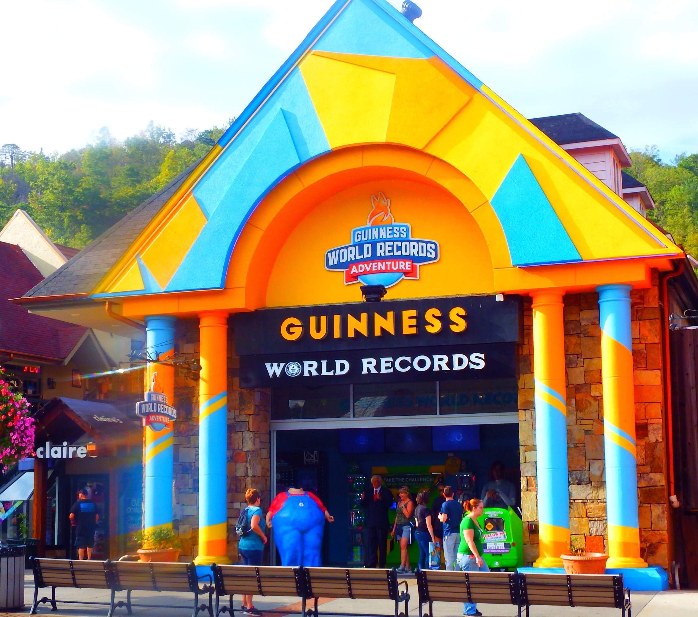 Not only does the Smokies offer The Titanic Museum Guinness Book of World Records is another exciting museum in Gatlinburg