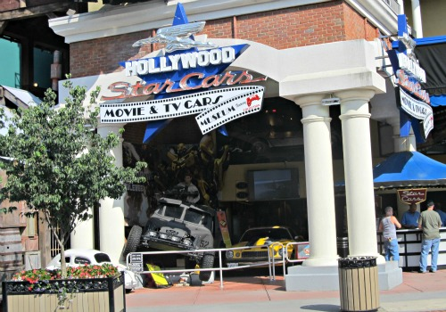 hollywood star cars is great for titanic-museum attraction