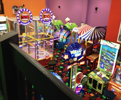 The Top Jump Arcade is filled with exciting games to keep you challenged for hours!