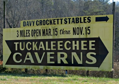 fun at the caverns in townsend-tn