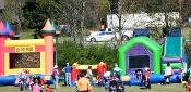 These Wears Valley Fall Festival Inflatables are a hit with children of all ages.