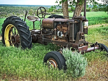 Check out the Wears Valley Fall Festival tractor and other antique cars and machinery.