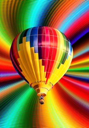 Ride this What's Happening Balloon To Get The Latest Happenings in the Great Smoky Mountains Area.