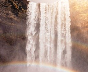 Beautiful Waterfalls Rainbow Falls