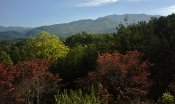 The beautiful thing about Gatlinburg Tn. is being surrounded by these beautiful mountains.