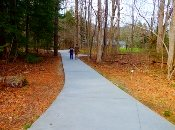The Cataract hiking trail is a short, relaxing walk for young children, and older adults.