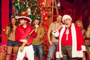 The Hatfield and McCoy Christmas Disaster crew are always feuding in fun of course!