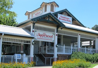 Applewood Restaurant has delicious southern-style food.