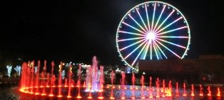 With Pigeon Forge Attractions, The Wheel is an awesome way to see the city!