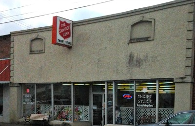 Salvation Army Front