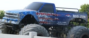 Sevierville Attractions Monster Truck Ride is quite a thrill!