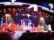 The Smoky Mountain Opry's depiction of the birth of Christ is among the most realistic Christmas Shows.