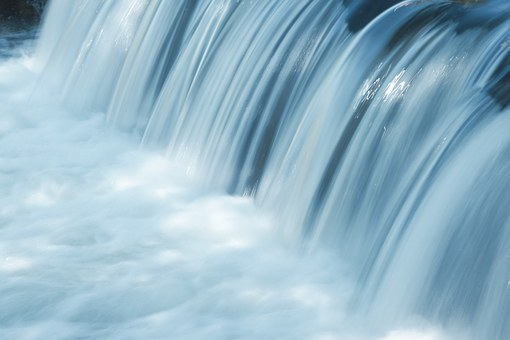 This waterfalls closeup reflects the beauty seen inside lovely Smoky Mountain waterfalls.