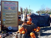 When you see this Wears Valley Fall Festigval Sign, you'll have to stop for an exciting, fun-filled day!