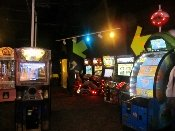 The WonderWorks Arcade is filled with lots of challenging games.